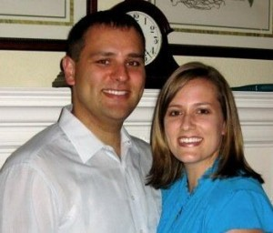 Jeremiah Krieger and his wife, Samantha